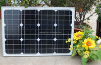 sun cell panel monocrystalline solar cells for sale in india 40W mini solar panel with TUV