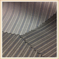 2014 fashion design navy blue and white stripe fabric 235