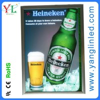 2015 NEW on the market for Distributor animated dynamic flash beer light box