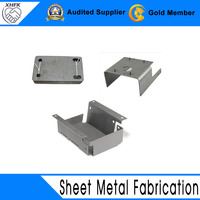 China factory stainless OEM sheet metal fabrication with holes