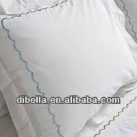 High quality luxury cotton bedding fabric with saten style