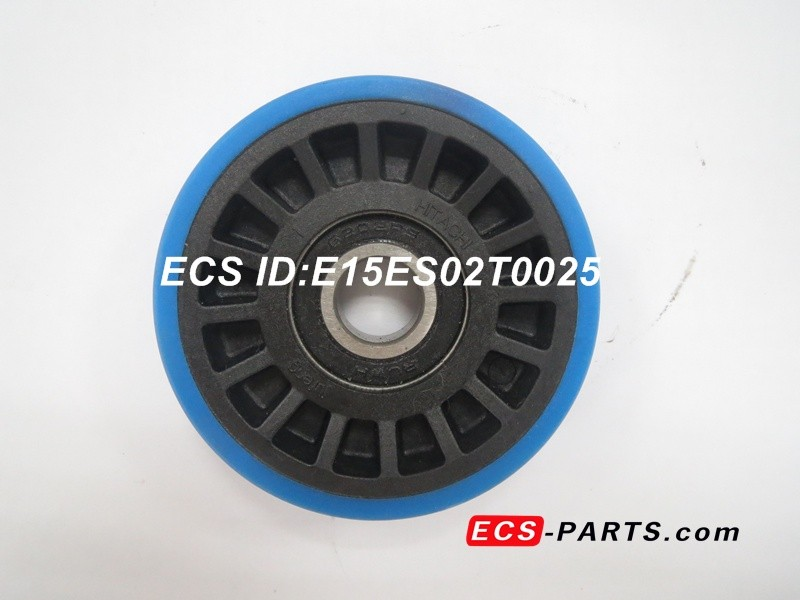 Escalator Step Roller of Hitachi 76.2*22,6202RS Blue