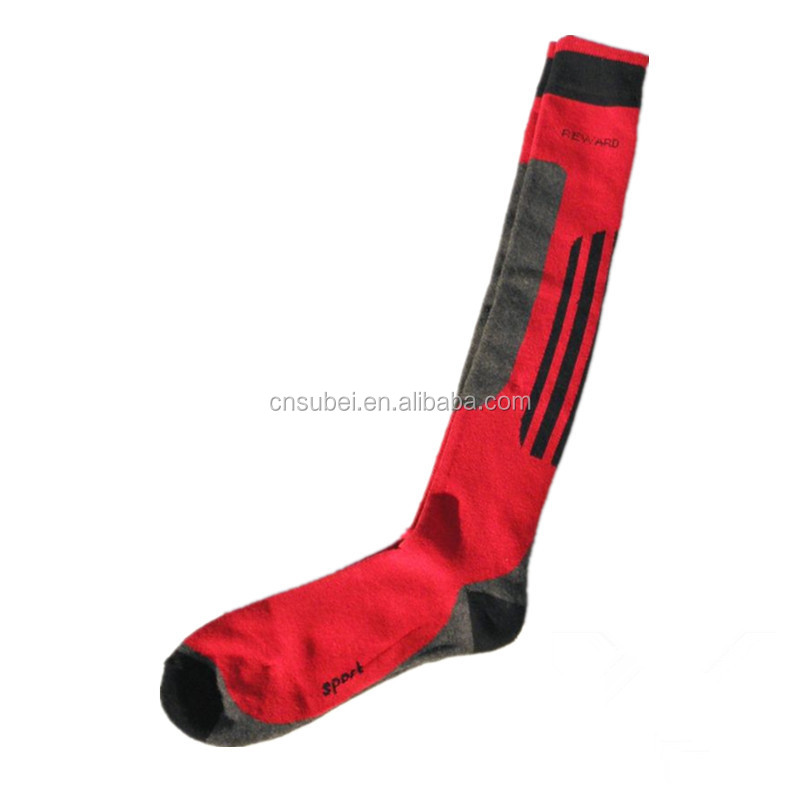 Ski thigh high socks stocking