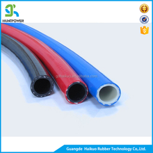Flexible rubber & PVC air compressor hose / mining hose / PVC flat braided pipe