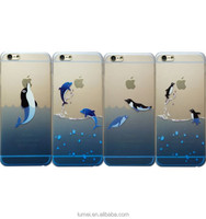 New Cute Animal Hard Clear Phone Case Cover For iPhone 6 Plus
