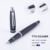 2018 new products custom logo luxury metal ball pen black pen gift set with box