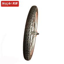 sulky tricycle front pneumatic rubber wheel 26 inch