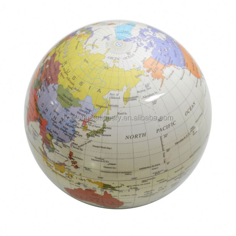 New Arrival Simple design new magnetic floating world globe with many colors