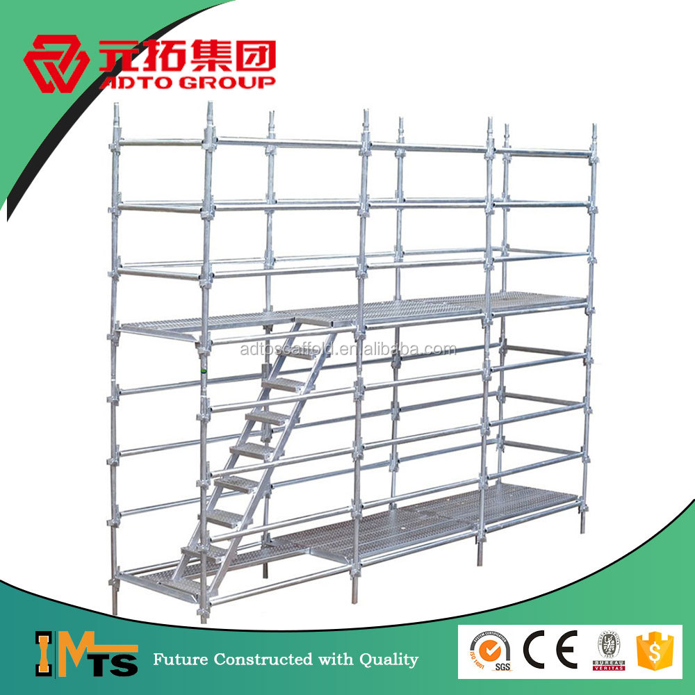 Australia Hot-dipped Galvanized kwik-stage scaffolding parts for construction safety