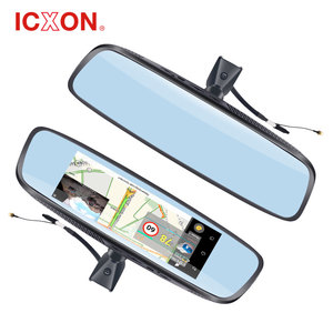 China 7.84'' smart 2 camera mirror monitor car rearview dvr