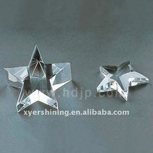 Transparent blank crystal giftware for wedfing decoration
