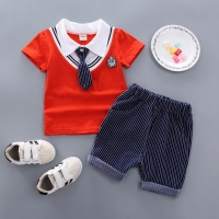 AS-399B Personality Kids Boy Clothes Set Baby Wear Wholesale Children's Boutique Clothes
