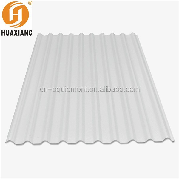Waterproof Upvc Corrugated Plastic Roofing Sheets For Home Depot