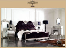 Velvet King Bed, Oriental Furniture , Majlis Bed room Furniture Sets
