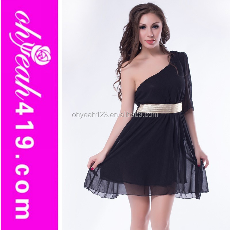 Wholesale factory price chiffon short beautiful girl without dress