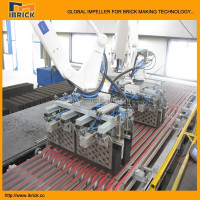 fully automatic Red Brick plant stacking brick setting machine at India evaluate the technology & Cost