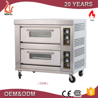 Luxury series 2 deck commercial steam oven with good price