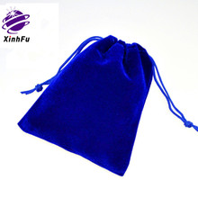 Custom Velvet Jewelry Pouch Bags With Drawstring For Gem XHF