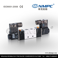 4V220-08 solenoid double acting air valve