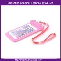 cheapest price factory wholesale waterproof mobile phone bag
