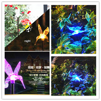 stainless steel high pole light up artificial flowers artificial flowers with led lights