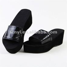 lady high platform slipper flip flop