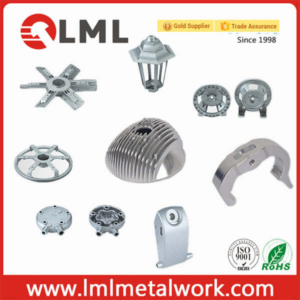 Professional Custom Made High Quality Aluminum Die Casting Parts For Various Industries