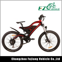 36V 500W e bycicle full suspension electric mountain bike