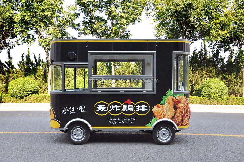 Electric Food Bus With High Quality