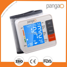 Digital wrist watch blood pressure monitor meter machine CE and FDA