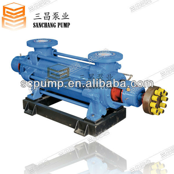 D85-67*8 horizontal multistage centrifugal pump in tank