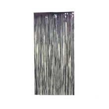 1mx2m Tinsel String Foil Fringe Curtain Shiny Shimmer Party Wedding Birthday Door Decoration Metal Tinsel Icicles