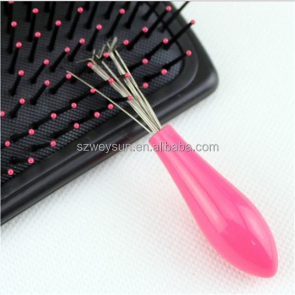 Comb Hair Brush Cleaner Cleaning Remover Embedded Plastic Comb Cleaner Tool