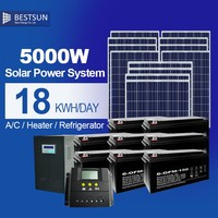 5000W High Quality Lithium Battery Solar Energy Generator Solar Panel Portable Solar Power Generator