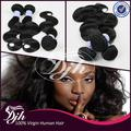 Hot Selling! Factory Supply Unprocessed 100% human hair chinese Body Wave hair bundles,Brazilian Malaysian Peruvian Virgin hair