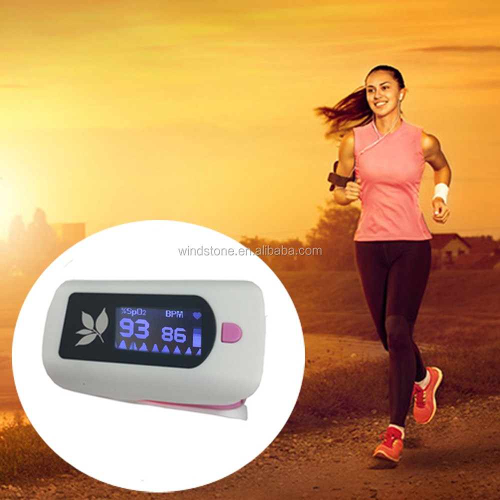 New Year Celebration Gift Fingertip Pulse Oximeter PR PI SPO2 Show