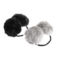 Unisex Winter Earwarmers Faux Fur Cute Earmuff For Children Muffs Winter Ear Cover Earcap Heated Earmuff Earphone