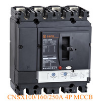 NSX250N 250A 4P Moulded Case Circuit Breaker MCCB