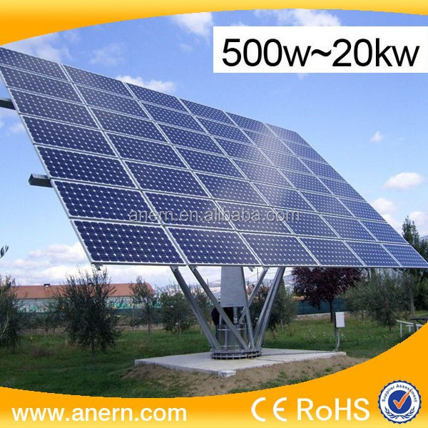 Power saving 2KW domestic solar power system for electronic project kits
