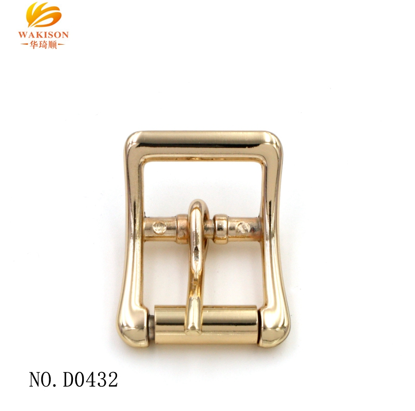 Over 20 years experience hardware factory custom making belt parts metal pin belt buckle for men