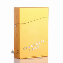 Wholesale cigarette cases with oxidation treatment for color Cigarette case for a whole soft package cigarettes 028N