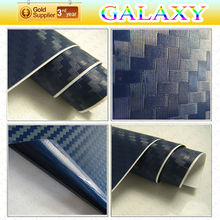 Great promotion during christmas heat resistant 3d carbon fiber car wrap vinyl film with air drain old decoration
