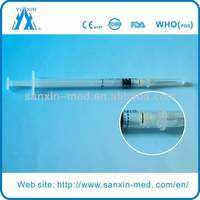 Retractable safety Syringe(FDA approval)