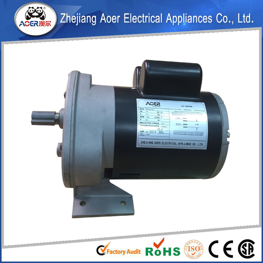 115v Ac 60 Rpm Gear Motor View 60 Rpm Gear Motor Aoer
