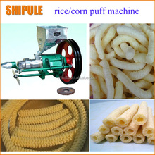 puffed corn flour extruded snack machine for sale