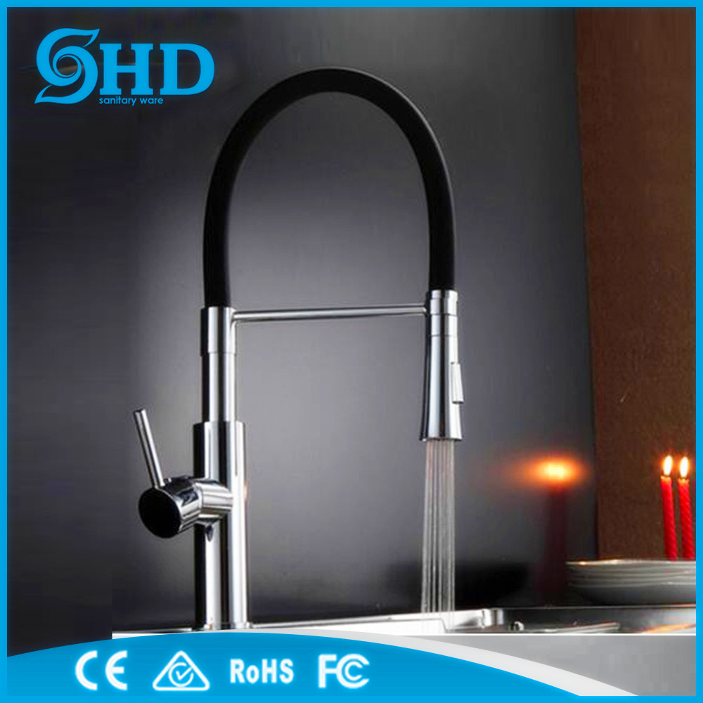 High quality brass fashion new design pull out kitchen faucets mixers taps