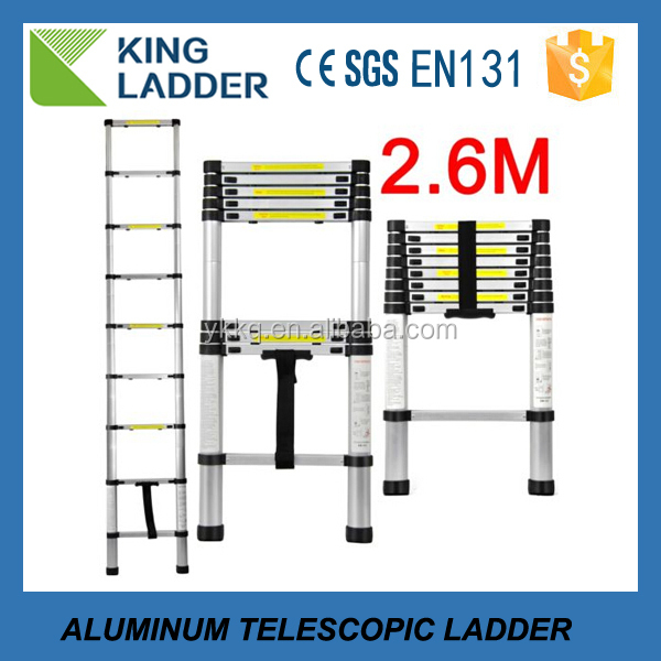speed agility telescopic ladder with EN131