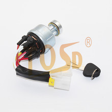 TOSD BRAND NEW VOE 14526158 VOE14529152 Ignition Switch with 2 <strong>Keys</strong> for Volvo EC140 EC160 EC210 EC240 E