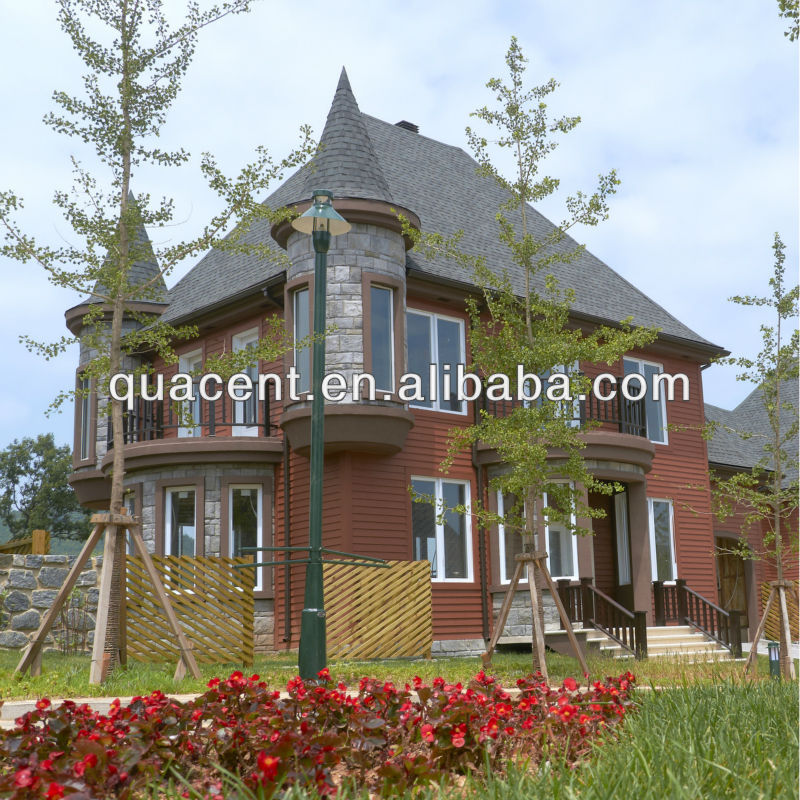 Fast Installation High Insulated Prefabricated Wooden Houses