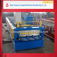 Color steel metal Double layer roof and wall tile making machine